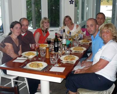 Tobermory dinner