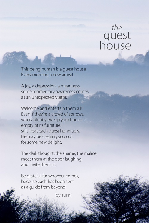 Guest House by Rumi
