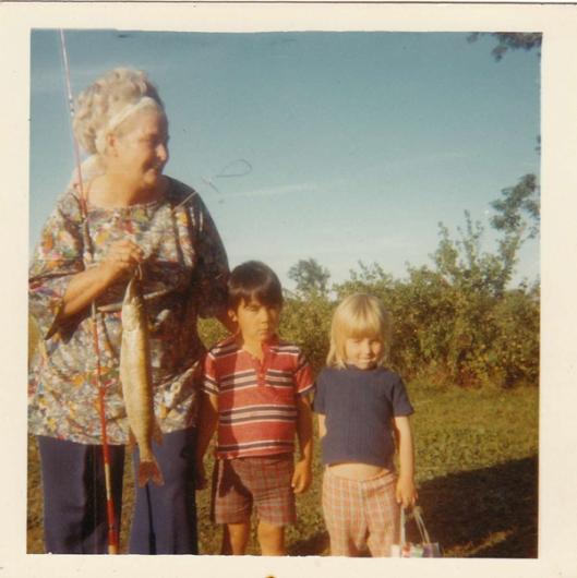 Nanny fishing