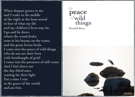 peace of wild things