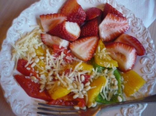 multi-colored supper
