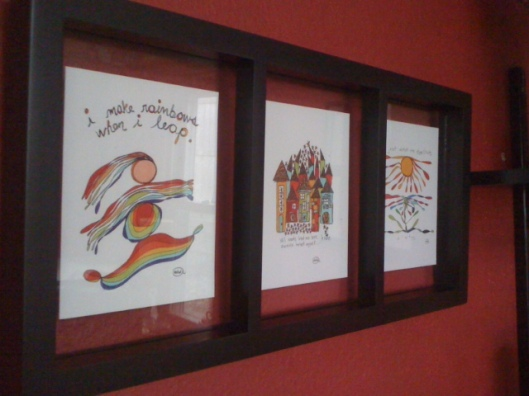 Framed cards