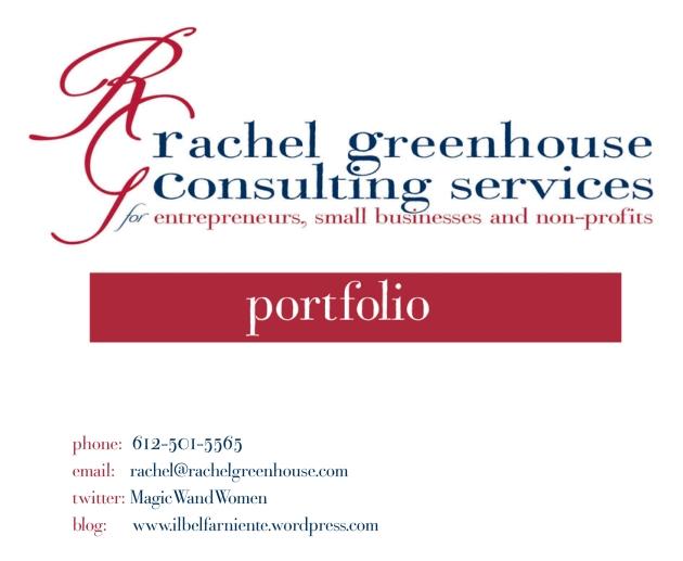 Rachel Greenhouse Portfolio
