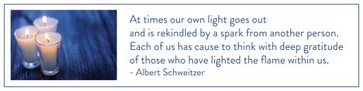 Gratitude Schweitzer