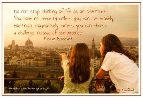 live bravely