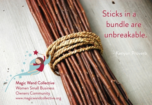 sticks in a bundle
