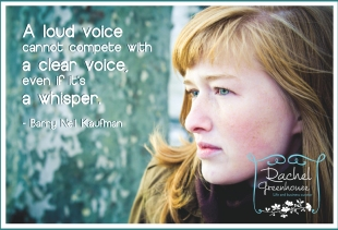 A clear voice