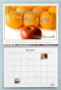 RG Calendar page