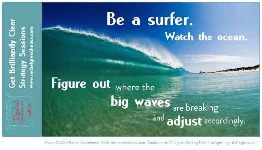 be a surfer