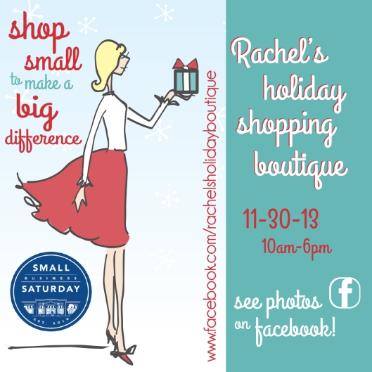 Rachel's holiday boutique 2013