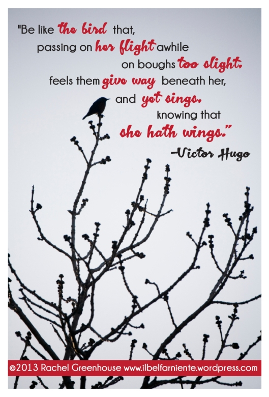 She hath wings by Victor Hugo